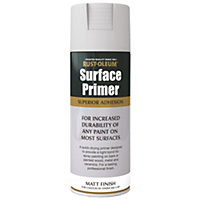 Rust-Oleum Surface Primer Spray Paint - Grey - 400ml