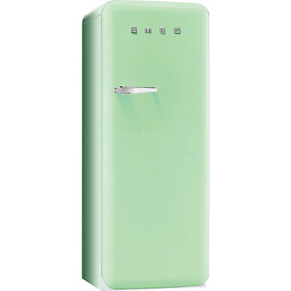 Image for Smeg FAB28QV1 Right Hand Hinged Fridge with Ice Box - Pastel Green from StoreName