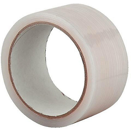 Image for Homebase All Weather Clear Tape - 50mm x 20m from StoreName