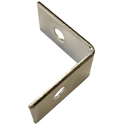 Image for Corner Brace Bright Zinc Plated - 25mm - Pack Of 8 from StoreName
