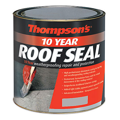 Image for Thompsons Roof Seal - Grey - 2.5L from StoreName