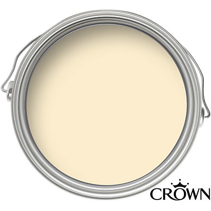 Image for Crown Breatheasy Solo Golden Cream - One Coat Matt Emulsion Paint - 2.5L from StoreName