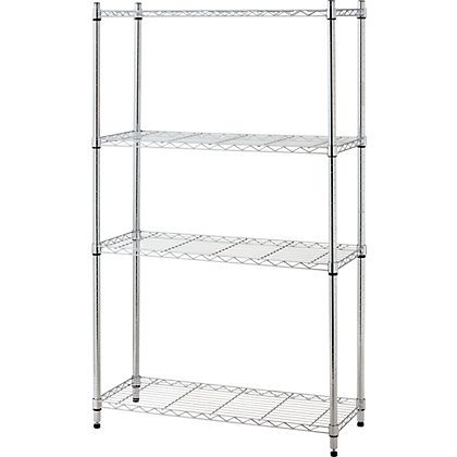 Image for 4 Tier Metal Heavy Duty Shelving Unit from StoreName