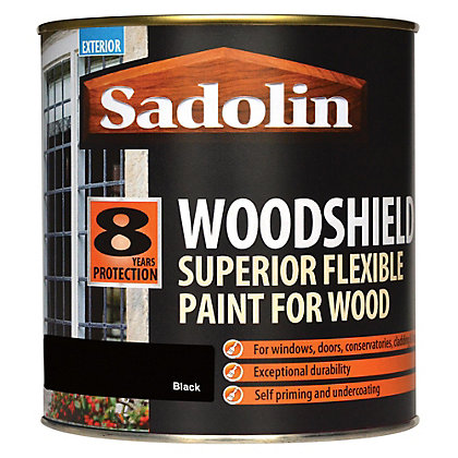 Image for Sadolin Woodshield - Black - 1L from StoreName
