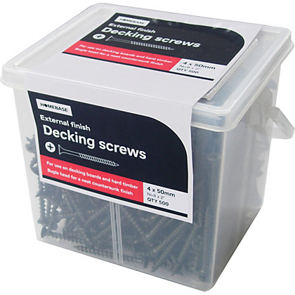 Image for Deck Screw - 4 x 50mm - 500 Pack from StoreName