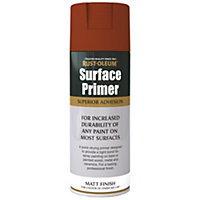 Rust-Oleum Surface Primer Spray Paint - Red - 400ml