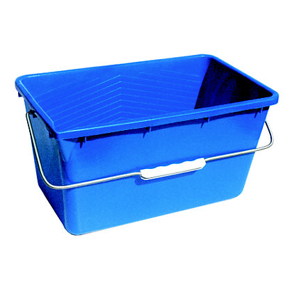 Image for UNGER 18 Litre Rectangular Multi Pupose Cleaning & Storage Bucket from StoreName