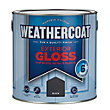 Homebase Weathercoat Black - Exterior Gloss Paint - 2.5L