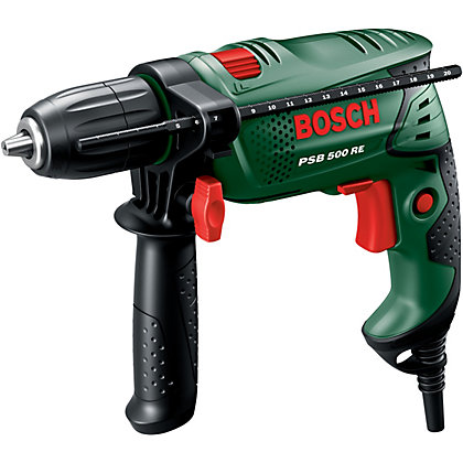 Image for Bosch PSB 500 RE Electric 500W Impact Drill from StoreName