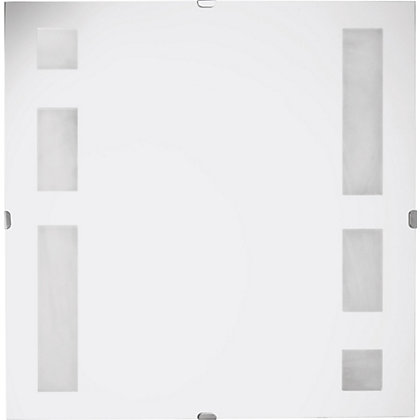 Image for Unframed Square Frosted Mirror from StoreName