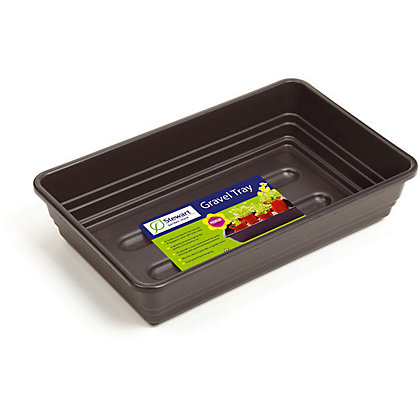 Image for Brown 52cm Grow Tray - without Holes from StoreName
