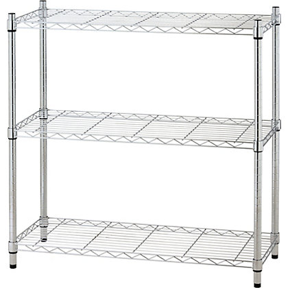 Image for 3 Tier Heavy Duty Metal Shelving Unit from StoreName