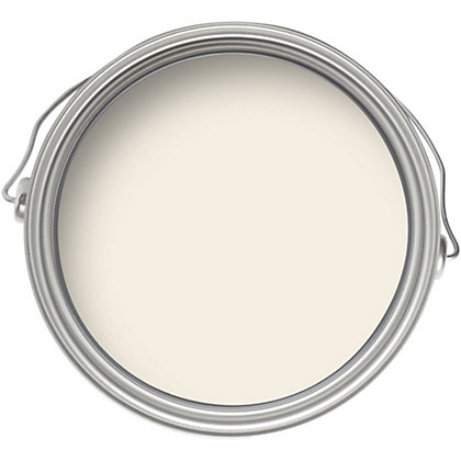 Image for Crown Breatheasy Cream White - Silk Emulsion Paint - 2.5L from StoreName