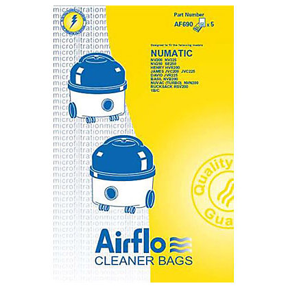 Image for Airflow Vacuum Dust Bags - 5 Pack from StoreName
