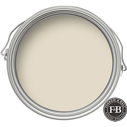 Image for Farrow & Ball Modern No.201 Shaded White - Emulsion Paint - 2.5L from StoreName