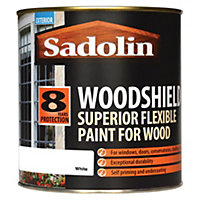 Sadolin Woodshield - White - 1L