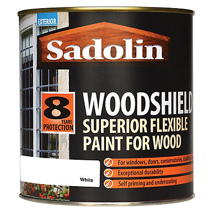 Sadolin woodshield white 1l - Sadolin exterior wood paint image ...