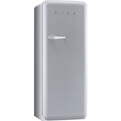 Image for Smeg FAB28QX1 Right Hand Hinged Fridge with Ice Box - Silver from StoreName