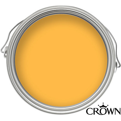 Image for Crown Tibetan Gold - Non Drip Gloss Paint - 750ml from StoreName