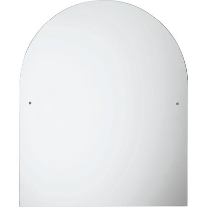 Image for Unframed Arch Drilled Mirror from StoreName