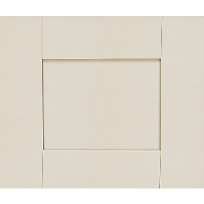 Image for Schreiber Shaker Bridging Unit / Top Box Door - Ivory from StoreName