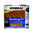 Ronseal Decking Oil Natural Oak - 2.5L