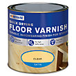 Homebase Quickdry Gloss Floor Varnish Clear - 2.5L