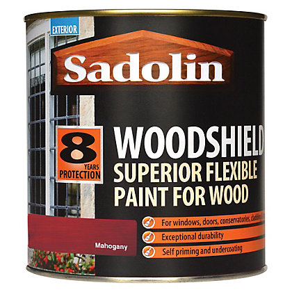 Image for Sadolin Woodshield - Mahogany - 1L from StoreName