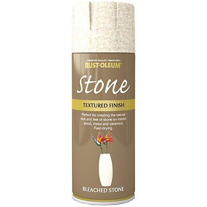 Image for Rust-Oleum Stone Spray Paint - Bleached Stone - 400ml from StoreName