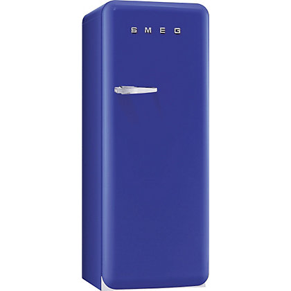 Image for Smeg FAB28QBL1 Right Hand Hinged Fridge with Ice Box - Blue from StoreName