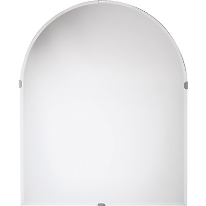 Image for Unframed Arch Bevelled Mirror from StoreName