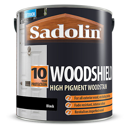 Image for Sadolin Woodshield - Black - 2.5L from StoreName