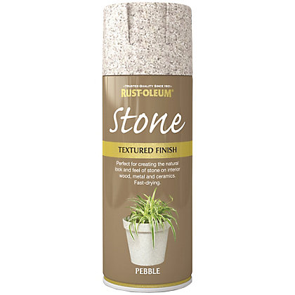 Image for Rust-Oleum Stone Spray Paint - Pebble - 400ml from StoreName