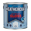 Homebase Weathercoat Pure Brilliant White - Exterior Gloss Paint - 2.5L