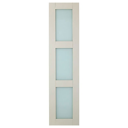 Image for Schreiber Shaker Door - Ivory Glass from StoreName