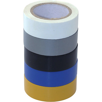 Image for Electrical Tape - 19mm x 10m - 5 Pack from StoreName