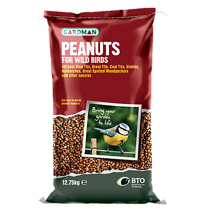 Image for Gardman Peanuts - 12.75kg from StoreName