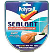 Polycell White Sealant Strip - 41mm