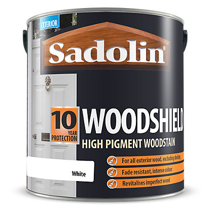 Image for Sadolin Woodshield - White - 2.5L from StoreName