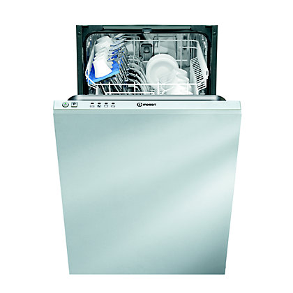 Image for Indesit Ecotime DISR 14B Built-in Dishwasher - White from StoreName
