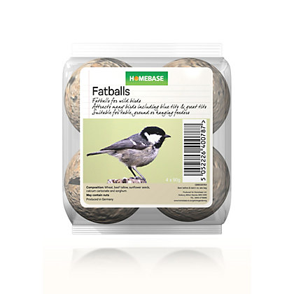 Image for Homebase Fat Balls - 4 Pack from StoreName