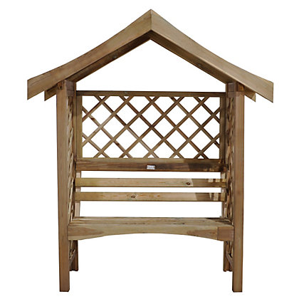Image for Forest Sienna Wooden Arbour from StoreName