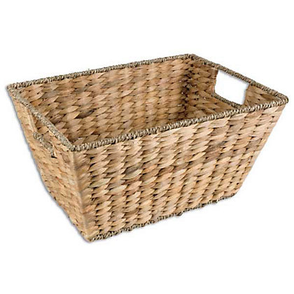 Image for Small Water Hyacinth Basket - Natural from StoreName