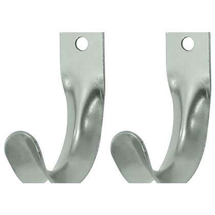 Image for Aluminium Storage Hook 2Pk from StoreName