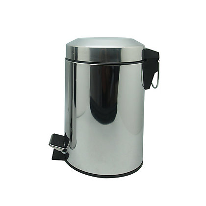 Image for Polished Stainless Steel 3L Flat Arch Bin from StoreName