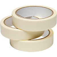 Value Masking Tape - 25mm x 25m - Pack Of 3