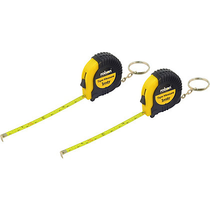 Image for Rolson 2 Piece 1m Tape Measure from StoreName
