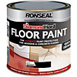 Ronseal Diamond Hard Black - Floor Paint - 2.5L