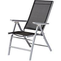 Seattle Reclining Chair Pack of 6 at Homebase Be