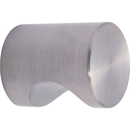Image for Notched Door Pull - Large - Stainless Steel from StoreName